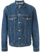 Paul Smith Buttoned Denim Jacket - Lyst