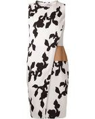 Narciso Rodriguez Botanical Print Dress - Lyst