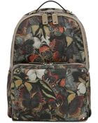 Valentino Printed Nylon Backpack - Lyst