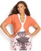 Inc International Concepts Plus Size Short-Sleeve Bolero - Lyst