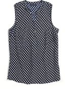 Tommy Hilfiger Printed Sleeveless Top - Lyst