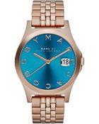 Marc By Marc Jacobs Women'S The Slim Rose Gold-Tone Stainless Steel Bracelet Watch 36Mm Mbm3318 - Lyst