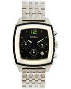 Breil Orchestra Square Chronograph Bracelet Watch - Lyst