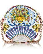 Dolce & Gabbana Glam Matelassé Shoulder Bag - Lyst