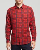 Marc By Marc Jacobs Beano Plaid Woven Button Down Shirt - Slim Fit - Lyst