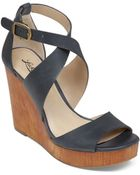 Lucky Brand Wedge Sandals - Lyndell - Lyst