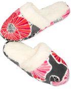 Vera Bradley Fleece Slippers - Lyst