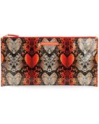 Marc By Marc Jacobs Printed Clutch - Lyst