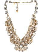 Kate Spade Grande Bouquet Statement Necklace - Lyst