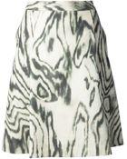 3.1 Phillip Lim Stain Print Aline Skirt - Lyst