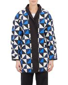 Etoile Isabel Marant Quilted Enid Cocoon Coat - Lyst
