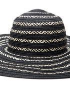 Forever 21 Striped Wide-Brim Sun Hat - Lyst