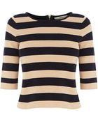 Oasis Stripe Cute Jumper - Lyst