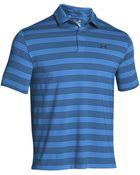 Under Armour Performance Fit Stripe Polo Shirt - Lyst