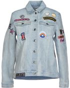 American Retro Denim Outerwear - Lyst
