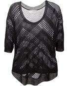 IRO Yacim Open-Knit Sweater - Lyst