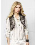 Denim & Supply Ralph Lauren Embellished Vest - Lyst