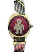 Vivienne Westwood Diamanté Teddy Watch - For Women - Lyst