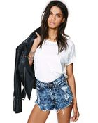 Nasty Gal Shock Value Cut-Off Shorts - Lyst
