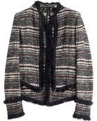 Donna Karan New York Tweed Jacket - Lyst