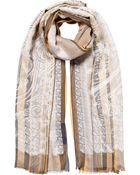 Etro Jacquard Silk-Jersey Scarf - Lyst