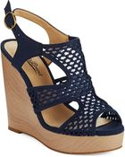 Lucky Brand Remyy Woven Wedges - Lyst