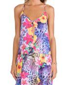 Nanette Lepore Slip Dress - Lyst