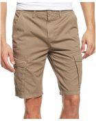 Guess Safari Cargo Shorts - Lyst