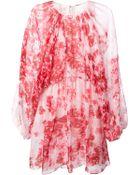Giambattista Valli Abstract Print Dress - Lyst