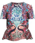 Mary Katrantzou Didascoop Printed Top - Lyst