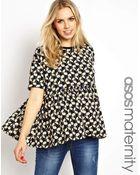 Asos Maternity Smock Top in Daisy Print - Lyst