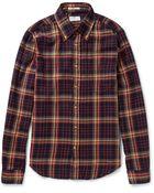 Gant Rugger Button-Down Collar Checked Cotton-Flannel Shirt - Lyst