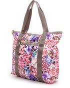 Lesportsac Erickson Beamon For Janis Tote - Redemption Of Eve Print - Lyst