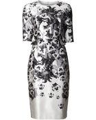 Prabal Gurung Flower Print Dress - Lyst
