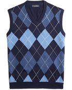 Brooks Brothers Supima® Cotton Argyle Vest - Lyst