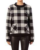 American Retro Sweatshirt - Checky Sweater - Lyst