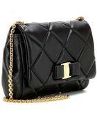Ferragamo Quilted Leather Shoulder Bag - Lyst