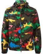 Valentino Camouflage Print Jacket - Lyst
