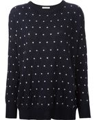 Each x Other Micro-Dots Knit Sweater - Lyst