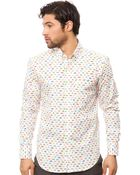 Naked & Famous The Regular Button Down Shirt - Lyst