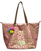 Betsey Johnson Glamazon Canvas Tote Bag - Lyst