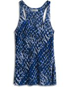Amanda Wakeley Willis Printed Tank Top - Lyst