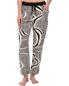 Josie Woodcut Item Pants - Lyst