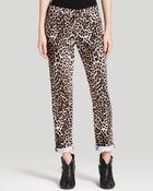 Rag & Bone/JEAN Leopard Print Boyfriend Jeans - Lyst
