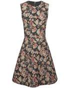 Markus Lupfer English Rose Charlotte Dress - Lyst