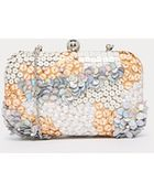 Asos Sequin Scatter Box Clutch Bag - Lyst