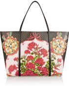 Dolce & Gabbana Escape Medium Printed Textured-Leather Tote - Lyst