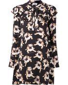 Au Jour Le Jour Pug Print Dress - Lyst