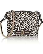 Valentino Leopard-Print Calf Hair Shoulder Bag - Lyst