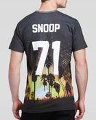 Eleven Paris Snoop 71 Sunset Print T-Shirt - For Men - Lyst